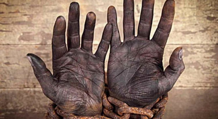 escravo maos trabalho