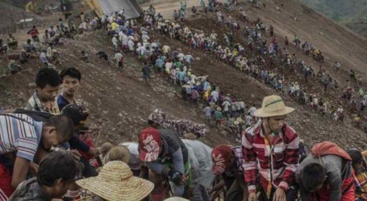 mineiros mianmar