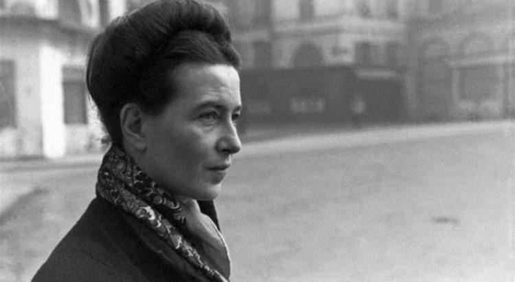 Simone de Beauvoir. / ARQUIVO