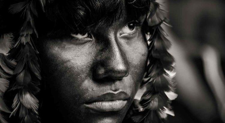 Foto: Tembé, em cobertura realizada na Festa do Moqueado na aldeia Itaputyre, Novembro de 2013 / Mídia NINJA