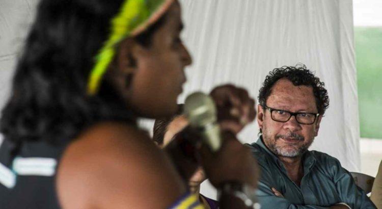 Imagem: Seminário de avaliação do Processo de Licenciamento Ambiental, em Altamira (Foto: Mario Vilela/Funai)